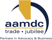 Alberta Association for Municipal Districts and Counties (AAMDC) logo