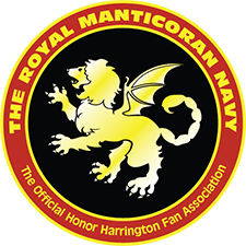 The Royal Manticoran Navy: The Official Honor Harrington Fan Association, Inc. logo