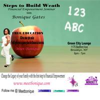 Steps To Build Wealth Empowerment  Seminars
