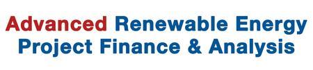 Infocast's Advanced Renewable Energy Project Finance &...