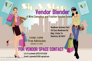 Sip & Shop~ Vendor Blender