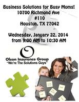 Business Solutions for Busy Moms