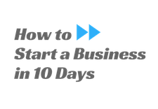 How to Start a Business in 10 Days logo
