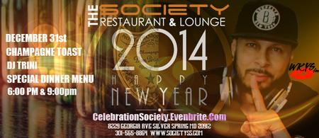 Society Restaurant & Lounge New Years Celebration