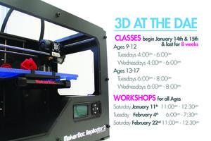 Discover 3D Printing Workshops