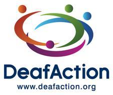 Deaf Action logo