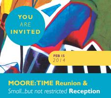 "MOORE: TIME Reunion & ""Small...but not restricted"" Reception"