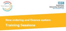 Training - New Ordering & Finance System logo