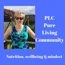 PLC Pure Living Community logo