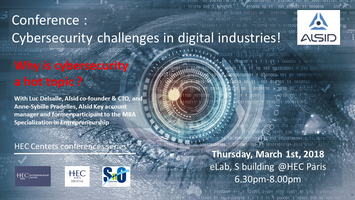 """#Conference – """"Cybersecurity challenges in digital..."""
