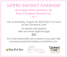 Summer Snapshot Fundraiser | Proceeds benefit the...