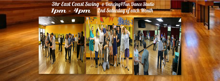 3hr Swing Dance Boot camp in Atlanta 2nd Saturday of each month