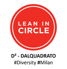 D2-DALQUADRATO • A Lean In Circle logo