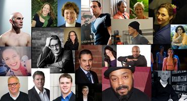 2014 Fellows Reception at Cleveland Public Theatre...