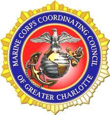 The Charlotte Marine Corps Reserve Center logo