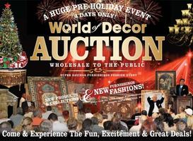 World of Decor NEW YEARS Auction Extravaganza