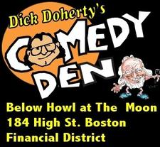 Dick Doherty's Comedy Den logo