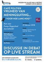 """Café Politiek - Vrijheid van meningsuiting… - """"Voor..."""