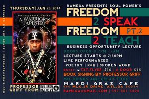 SOUL POWER FREEDOM 2 SPEAK FREEDOM 2 TEACH PT2