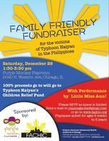 Typhoon Haiyan Children's Relief Fundraiser
