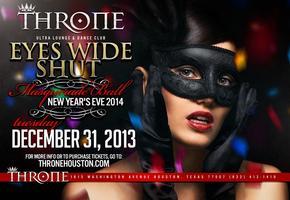 Throne EYES WIDE SHUT NYE Masquerade Ball