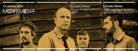 Massimo Volume @ Movement