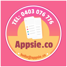 Jessica Getty from Appsie.co logo