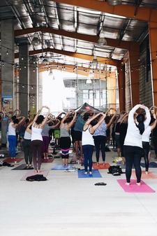 Yoga & Brunch @ SALT logo