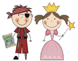 Pirates and Princess Party - Jan. 11th at 10:30a.m.