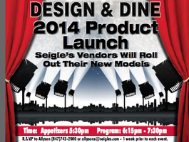 Design & Dine 2014 Product Launch
