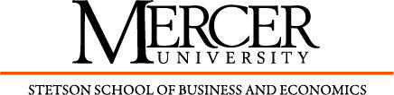 Mercer University:  Stetson School of Business and...