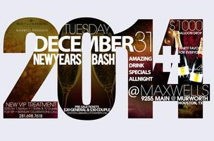 New Year's Eve at Club Maxwell City