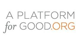 A Platform For Good Launch
