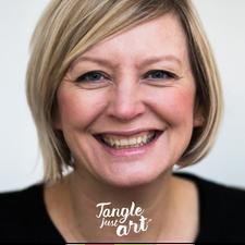 Iris Heidt | Tangle-just-art logo