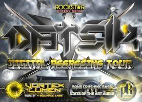 Datsik - Digital Assassins Tour - Portland, OR