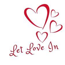 Let Love In logo