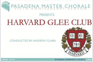 PMC presents The Harvard Glee Club