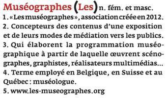 Les Rencontres annuelles de la Muséographie. Journée...