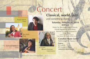 Concert, Classical, World, Jazz and something more...