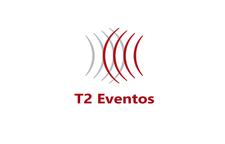 T2 Eventos logo