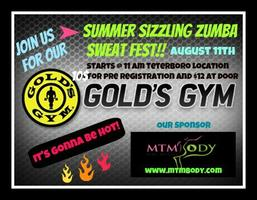 Summer Sizzling Zumba Sweat Fest!!