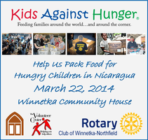 Kids Against Hunger Food Packing Event- 110,000 Meals...