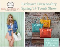 Big Buddha Spring 2014 Handbag Trunk Show - Exclusive...
