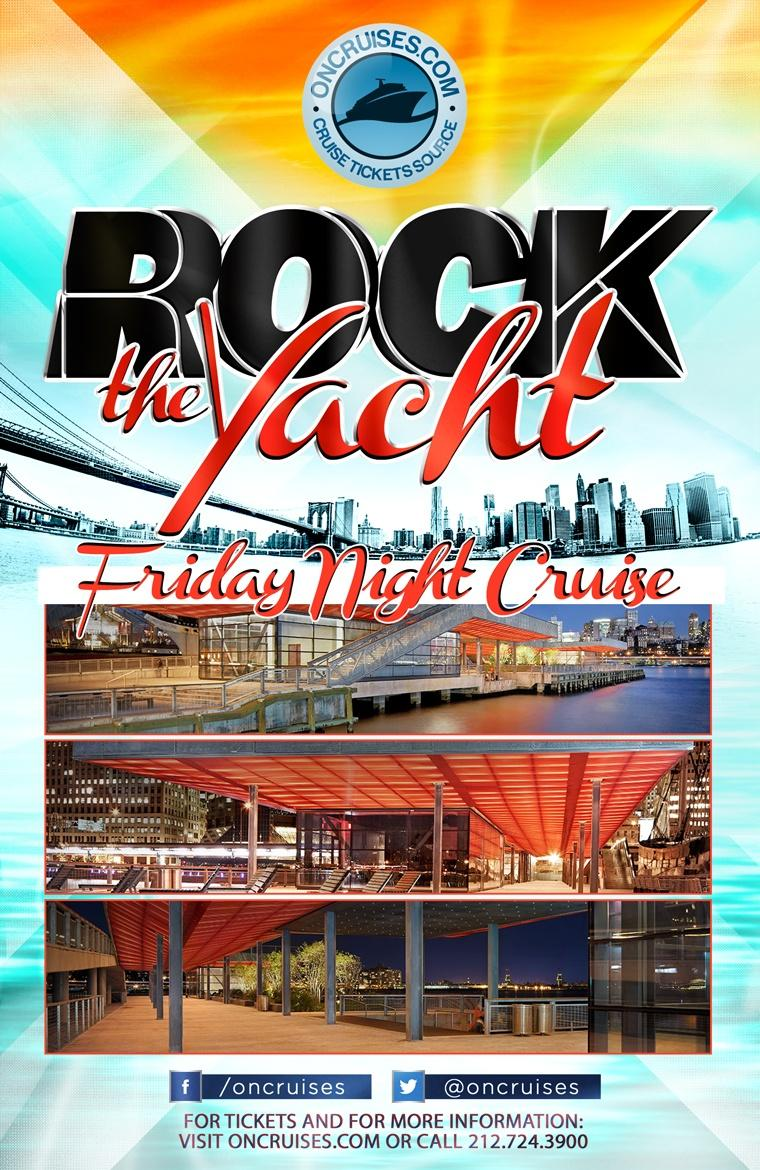 Rock the Yacht: Friday Night Party Cruise
