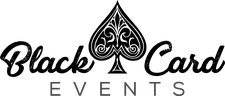 Black Card Events logo