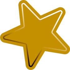 Gold Star Guides logo