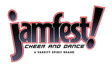 JAMfest Cheer and Dance logo