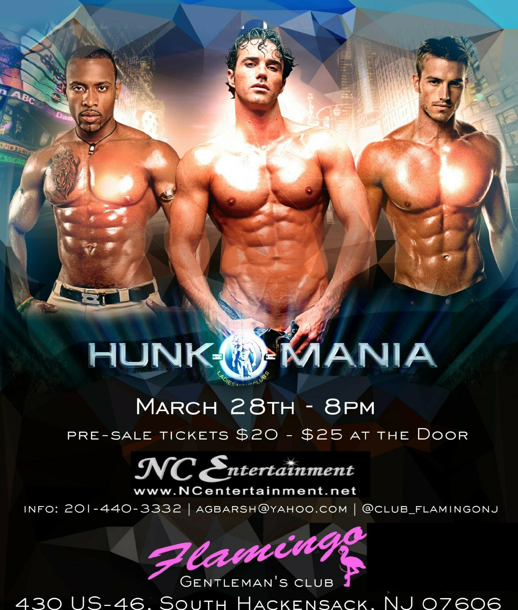 Hunk-O-Mania Male Revue Strip Show Club - San Diego, CA