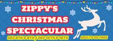 Zippy's Christmas Spectacular by Party Time Entertainment logo