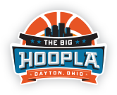 The Big Hoopla NCAA First Four Local Organizing Committee logo